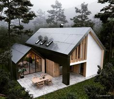 """579 свиђања, 5 коментара - Design + Magazine (@designplusmag) у апликацији Instagram: """"Pavilion House by Studio Arhein Visualization by Dusan Vukcevic #house #housedesign…"""""""
