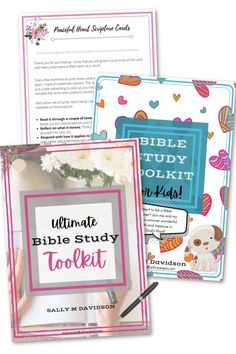 You will enjoy your 15 minute quiet time and grow spiritually with these beautiful and easy to use tools. Create your own Bible study notebook! #inspiredandrefreshed #printablebiblestudy #biblestudy #scripture