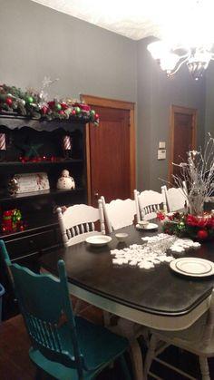 Christmas Diningroom Upscale Budget Decor Diy Consideritdone Coalcountryconcierge