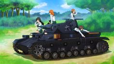 Anime Girls Und Panzer Wallpaper #337832 - Resolution 3200x1800 px