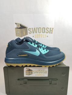 80ce7fdbceea Nike Air Zoom 90 It Golf Shoes Armory Navy 844569-400 Size 12 New