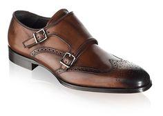 To Boot New York: Men's Burns Dress Shoe in Brown