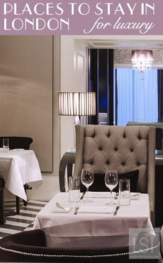 Places to stay in London for luxury -from high end to affordable luxury. This is the Eccleston Square Hotel - see all of the best hotels in London: http://livesharetravel.com/18842/places-to-stay-in-london-luxury/ | pic: Eccleston Square Hotel
