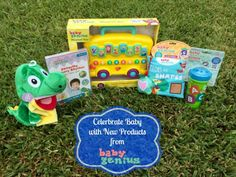 #Win Baby Genius Prize Pack from @OutnumberedMama #Giveaway  http://outnumbered3-1.com/2015/09/celebrate-baby-with-new-products-from-baby-genius-giveaway.html
