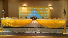 Yellow Head table
