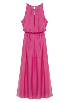 #ROMWEROCOCO. ROMWE | Split Maxi Rose Dress, The Latest Street Fashion