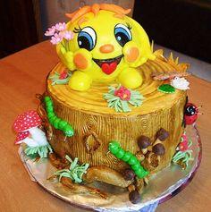 birthday cake Десерты, Еда, Пироги