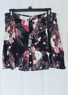 Floral Mini Skirt! Buy my item on #vinted http://www.vinted.com/womens-clothing/mini-skirts/17874946-floral-print-wet-seal-mini-skirt
