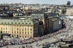 Run the Stockholm marathon...one can dream.