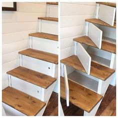 diy wood projects for home diy wood projects ; diy wood projects for beginners ; diy wood projects to sell ; diy wood projects for home ; diy wood projects for men ; diy wood projects for kids ; Diy Wood Projects, Home Projects, Woodworking Projects, Beach House Decor, Diy Home Decor, Stair Storage, Diy Storage, Stairs With Storage, Stair Drawers