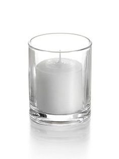 72 (SEVENTY-TWO!!!) candles and glass for $20 - 10 hour burn time. | Votive | Candles | Cheap | Inexpensive | Wedding | ...cannot believe this price.