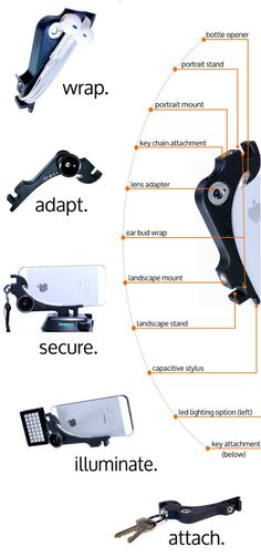 XiStera - Multi-Functional Attachment to iPhone 5