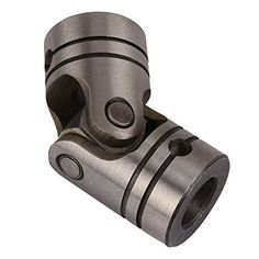 WEONE 4000rpm 12 x 12mm Diameter OD23 L52 Steering Steel Universal Joint Motor Coupling Screw Silver-grey