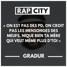 #punchline #gradur #rap #rapfrancais #citation Rap City, Rap Lines, Singing, Death, Messages, Troll, Music, Flow, France