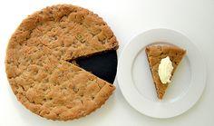 Receta de cookie cake una tarta de galleta muy rica!