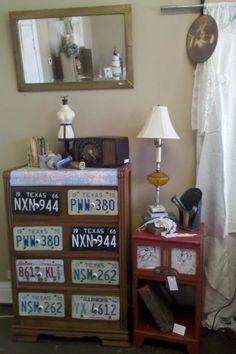 Love this dresser idea Refurbished Furniture, Repurposed Furniture, Painted Furniture, Furniture Repair, Furniture Projects, Homemade Furniture, Texas, Vintage Nursery, New Room