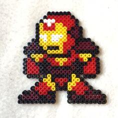 Iron Man hama beads by l_mzki_creations