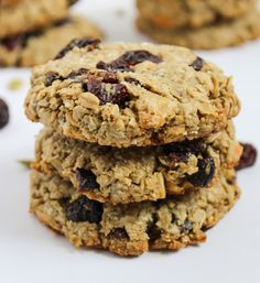 One-Bowl Vegan Breakfast Cookies from The Fitchen