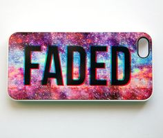 Faded Galaxy Nebula iPhone Case Cover 5-4S-4 Dope Space