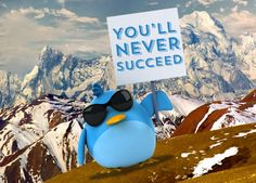 Twitter Haters! #twitter #funny #bord #mountain #picket