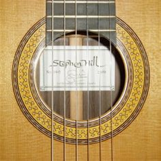 Stephen Hill, Luthier