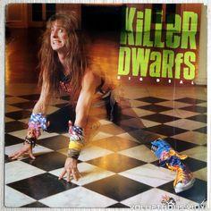 Third album from Canadian #hardrock band Killer Dwarfs