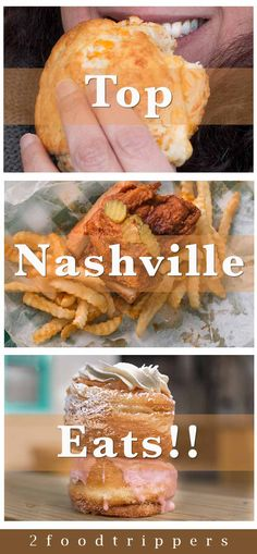 Check out our picks for where to eat in Nashville during a US road trip. | Nashville | Tennessee | Places to Eat in Nashville | What to Eat in Nashville | Nashville Food | Nashville Restaurants | Hot Chicken | Donuts | Biscuits | #Nashville #NashvilleFood #NashvilleRestaurants