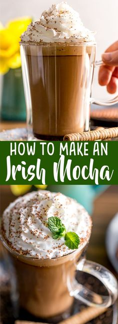 How to make a Brown Sugar Cinnamon Cortado at home | How to make an Irish Mocha at home | How to make a cortado | How to make a Mint Mocha at home | Fancy Coffee Drinks at home #ad @nespresso