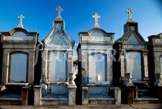 Louisiana New Orleans Garden District Lafayette Cemetery tombs above ground