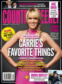 Magazines - The Charmer Pages : Carrie Underwood - Country Weekly Magazine December 2013