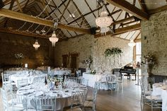 The Monks Refectory with fairy lights set up for a couple at Notley Abbey. Flowers by Wild Orchid Designs. Image by Natalie J Weddings Wild Orchid, The Monks, London Wedding, Fairy Lights, Garden Wedding, Orchids, Wedding Photography, Couple, Weddings