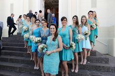 casamento azul e branco publicado no blog de casamento Colher de Chá Noivas