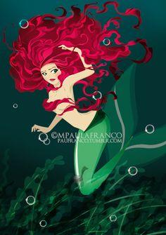 The little mermaid by ~paufranco on deviantART