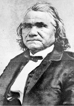 General Stand Watie, Cherokee - the last Confederate general to surrender