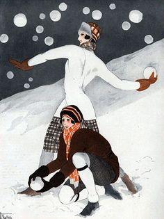 Illustration by Armand Vallee for 'La Vie Parisienne' 1923