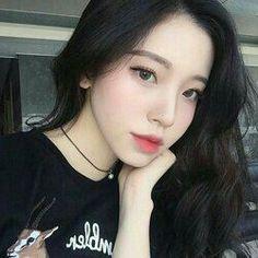 32 new Ideas makeup korean style ulzzang seoul Pretty Korean Girls, Korean Beauty Girls, Cute Korean Girl, Cute Asian Girls, Asian Beauty, Cute Girls, Pelo Ulzzang, Moda Ulzzang, Ulzzang Korean Girl