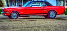 A Pony Car in Ste. Anne, Manitoba Pony Car, Car Ins, Muscle Cars, Outdoors, Trucks, Travel, Viajes, Truck, Trips