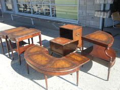 1900-1950, Dark Wood Tone, Federal, Living Room Sets and Mahogany #Federal #CowenHeritageHenredon