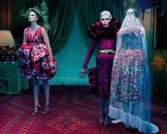 'So Magical, So Mysterious' Eniko Mihalik by Miles Aldridge
