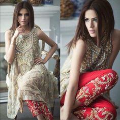 Mina Hasan Luxury Formal Eid Dress Collection http://clothingpk.blogspot.com/2015/05/mina-hasan-luxury-eid-dress-collection-2015.html @beglamrs