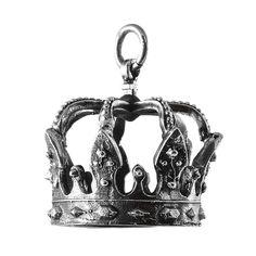 Pandantiv realizat din argint, lucrat în formă de Coroană din Oțel a Regilor României,  simbol al puterii românesti și podoabă pe fruntea regilor.  Cod produs: CP3701 Greutate: 22.42 gr. Lungime: 3.70 cm Lățime: 2.70 cm Lapis Lazuli, Tanzania, Decorative Bells, Agate, Topaz, Labrador, Home Decor, Diamond, Decoration Home