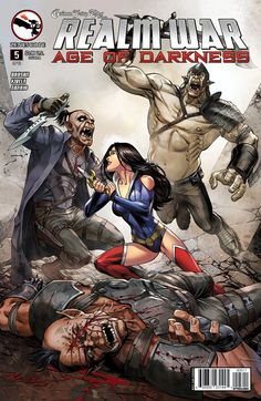 Zenescope 5A cover Grimm Fairy Tales Presents Realm War Age Of Darkness #5