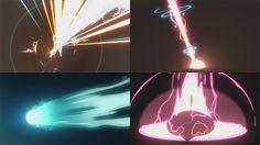 アミューズメント系のエフェクトの参考用。手描き風エフェクトの動画を14個集めてみたよ