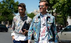 """The strongest looks on the street at Paris Fashion Week S/S '16 - GQ.co.uk"""