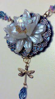 Collier water lilly spirit