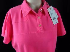 Vineyard Vines Shep Shirt Polo Womens Pink Medium New With Tags Whale MSRP $78 #vineyardvines #PoloShirt #Casual