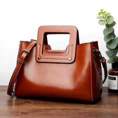 Genuine Leather Totes Women Handbags Big Size Casual Tote Oil Wax Leather Women's Shoulder Bags Genuine Leather Totes Women Handbags Big Size Casual Tote Oil Wax Leather Women's Shoulder Bags Fashion Handbags, Tote Handbags, Purses And Handbags, Gucci Handbags, Cheap Handbags, Luxury Handbags, Crossbody Bags, Fashion Purses, Fossil Handbags