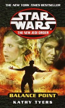 "Star Wars - New Jedi Order - ""Balance Point"" - Book 7 Star Wars Novels, Star Wars Books, Jacen Solo, Yuuzhan Vong, Good Books, My Books, Lucas Arts, Keep The Peace, Star Wars Comics"
