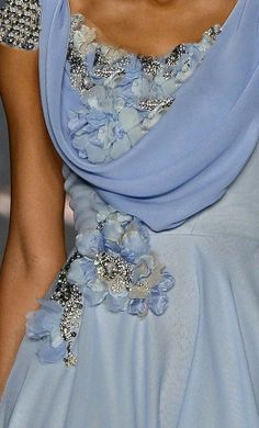 blue jeweled dress