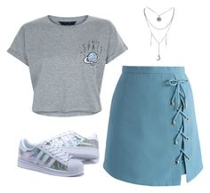 """""""Untitled #601"""" by alwateenhosam ❤ liked on Polyvore featuring Chicwish and New Look"""